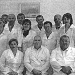 Колектив диспансеру. В першому ряду, в ценрі - Юрій Семенович Шугалей